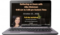 Zoom Gathering 10-25-20 with Alba Weinman (Eastern time)