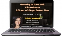 Zoom Gathering 12-12-20 with Alba Weinman (Eastern time)