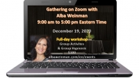 Zoom Gathering 12-19-20 with Alba Weinman (Eastern time)