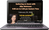 Zoom Gathering 02-20-21 with Alba Weinman (Eastern time)