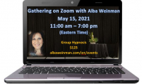 Zoom Gathering 5-15-21 with Alba Weinman