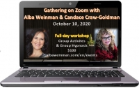 Zoom Gathering with Alba Weinman and Candace Craw-Goldman